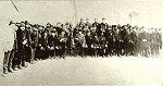 A 48-as öreg honvédek a korabeli fényképen 1898 március 15-én. Forrás: a Szentesi Levéltár fotógyűjteménye.
