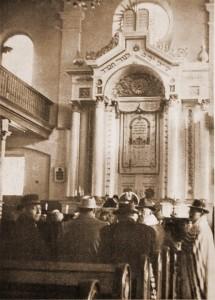 Zsinagóga belső