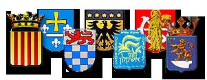 Testvérvárosi címerek
