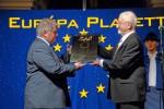 Az Európa Plakett átadása