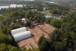 Teniszpályák az Üdülőközpontban