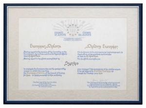 2004. European Diploma