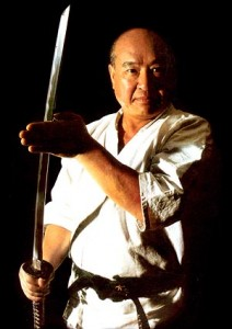 Sosai Masutatsu Oyama, az IKO Kyokushinkaikan alapítója