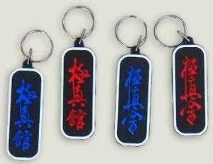 Kanji-s kulcstartók