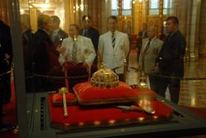 A Szent Korona a Parlamentben