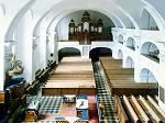 A templom belső tere